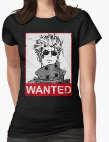 Vash the wanted Womens Fitted T-Shirt