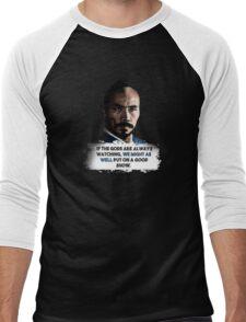 Marco Polo: Hundred Eyes Quote (Dark) Men's Baseball ¾ T-Shirt