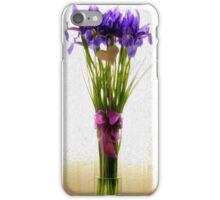 Vase of Iris iPhone Case/Skin