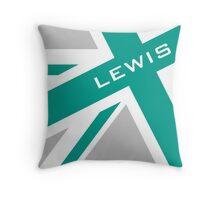 Lewis Hamilton - Team Colours Throw Pillow