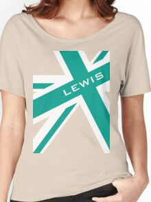 Lewis Hamilton - Team Colours Women's Relaxed Fit T-Shirt