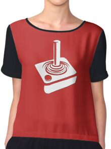 Joystick - 80s Computer Game T-Shirt Chiffon Top