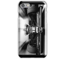 Ayrton Senna (black & white) iPhone Case/Skin