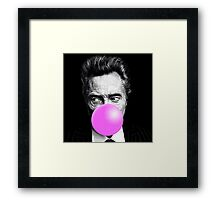 Christopher Bubblegum Framed Print