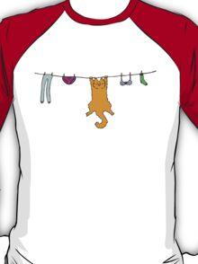 Wet Washing - colourised version T-Shirt
