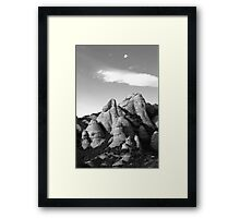 mountain top Framed Print