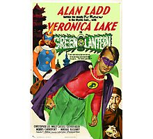 Alan Ladd as Green Lantern Movie Poster Photographic Print