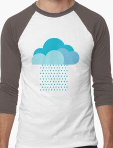 We love weather! rain, clouds, water, raindrop, spring, summer, autumn Men's Baseball ¾ T-Shirt