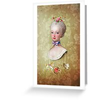 Marie-Antoinette Greeting Card