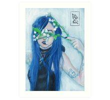 'White Flower' - Fine Art Portrait Art Print
