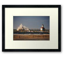St Joseph North Pier Lighthouse - 1 Framed Print