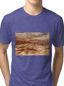 The Painted Hills Of Oregon - 1 ©  Tri-blend T-Shirt