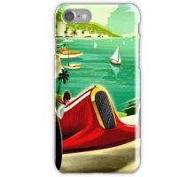 """MONACO GRAND PRIX"" Auto Racing Print iPhone Case/Skin"