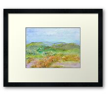 View from Bear Hill  Framed Print