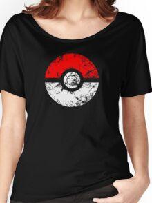 Pokeball - Grunge Women's Relaxed Fit T-Shirt