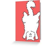 Hand Stand Greeting Card