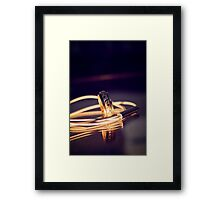 Ring of Fire Framed Print