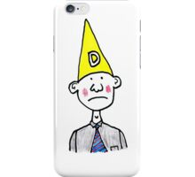 Dunce Hat iPhone Case/Skin
