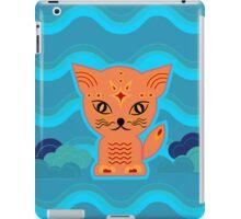 Little kitten with weather ;-) , cat, kitty, pussy iPad Case/Skin