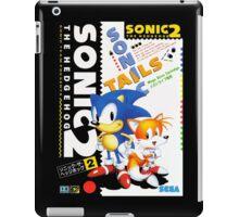 Blue Hedgehog 2 iPad Case/Skin