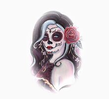 Alegria faded day of the dead art by Renee Lavoie Unisex T-Shirt