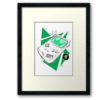 Retro Hand Held Framed Print