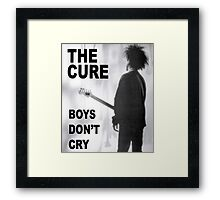 boys dont cry music band tour 2016 cure Framed Print