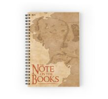 The Note on the Books Spiral Notebook