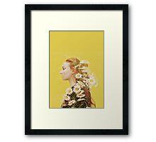 Sophie Turner Graphic Framed Print