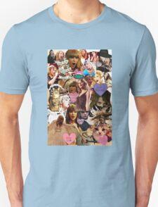 cat collage taylor swift Unisex T-Shirt