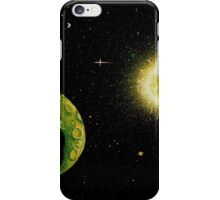 Green Moon iPhone Case/Skin