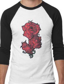 The Rose. Men's Baseball ¾ T-Shirt