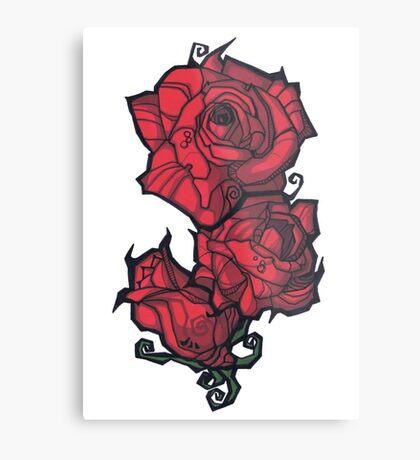 The Rose. Metal Print