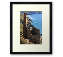 Wheal Coats Engine House Framed Print