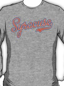 Syracuse Script Orange VINTAGE T-Shirt