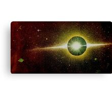 Deep Space Sparks Canvas Print