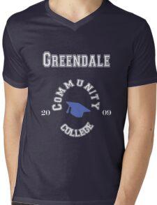 Commuinity- Greendale College Mens V-Neck T-Shirt