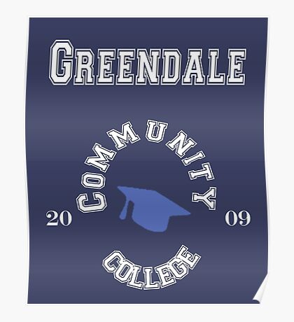 Commuinity- Greendale College Poster