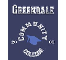Commuinity- Greendale College Photographic Print