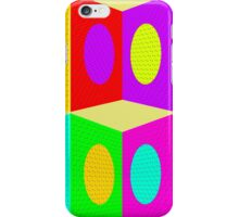 """""""PSYCHEDELIC BLOCKS"""" 3D Whimsical Print iPhone Case/Skin"""