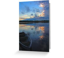 The Day is Over ... Greeting Card