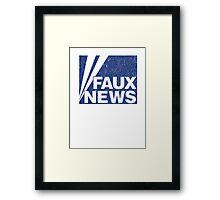 Faux News Framed Print
