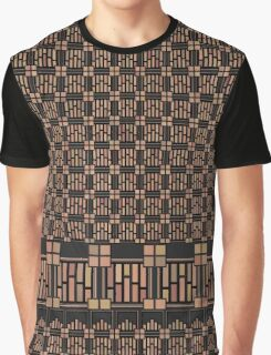 Art Deco Squares and Rectangles Graphic T-Shirt