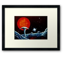 The big red one Framed Print