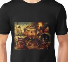 An Insight Into Hell 2 by Hieronymus Bosch Unisex T-Shirt