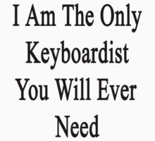 I Am The Only Keyboardist You Will Ever Need  by supernova23
