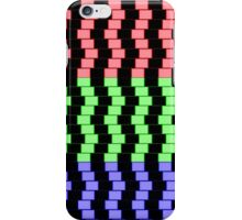 """""""ABSTRACT 3D BLOCKS"""" Psychedelic Print iPhone Case/Skin"""