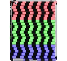 """""""ABSTRACT 3D BLOCKS"""" Psychedelic Print iPad Case/Skin"""