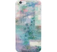 Abstracted Shrooms iPhone Case/Skin