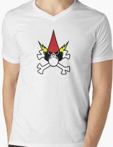 Cross Hater Mens V-Neck T-Shirt